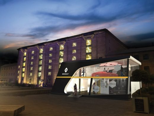 Renault UK will present concept car TreZor on Granary Square