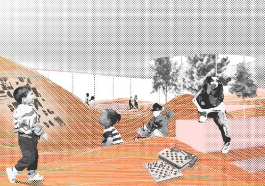 School without Classrooms Berlin 2nd prize