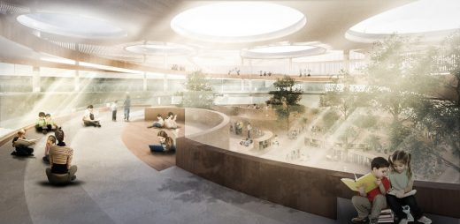 School without Classrooms Berlin 3rd prize