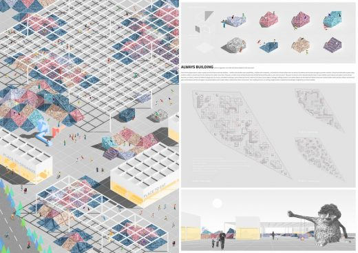 School without Classrooms Berlin Design contest runner up
