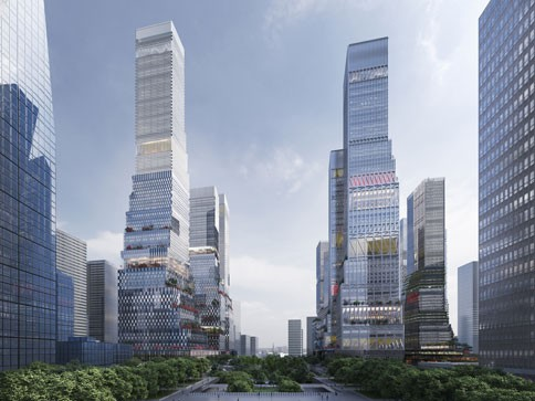 Shenzhen North Station Urban Design Competition