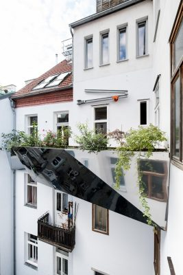Skyscaper Balcony Project in Vienna