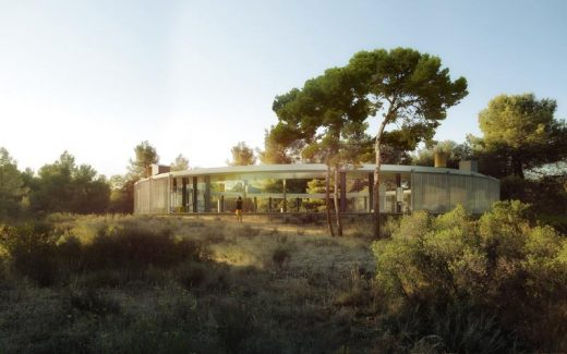 Contemporary Catalan House near Barcelona