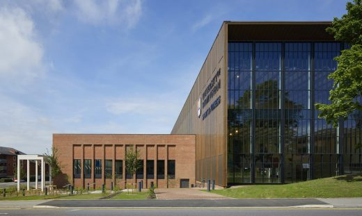 University of Birmingham Sport & Fitness Club Building