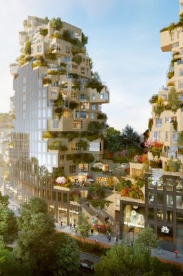Valley Towers by MVRDV at Amsterdam CBD Zuidas