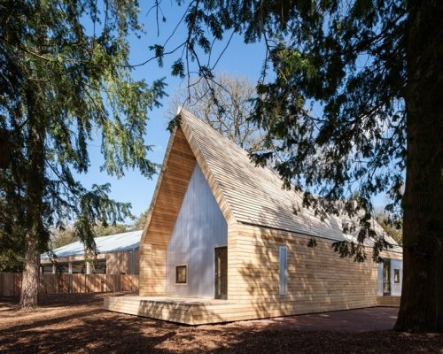 Wolfson Tree Management Centre - RIBA Client of the Year 2017