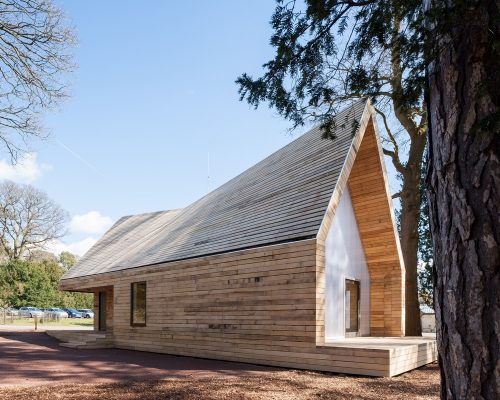 RIBA Client of the Year 2017 Wolfson Tree Management Centre, Gloucestershire by Invisible Studio
