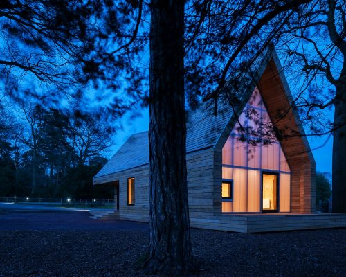 Wolfson Tree Management Centre, Gloucestershire by Invisible Studio