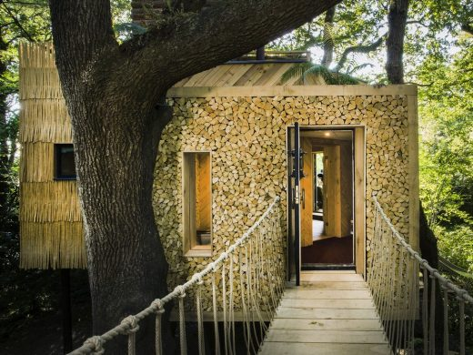 West Dorset Woodsman's Treehouse