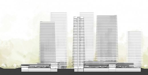 Woosung Residential Complex Seoul building design elevation