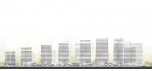 Woosung Residential Complex Seoul building design elevations