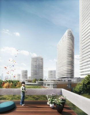 Woosung Residential Complex Seoul tower design