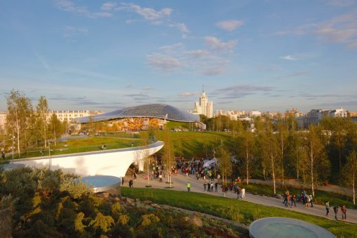 Zaryadye Park Moscow Architecture Walking Tours