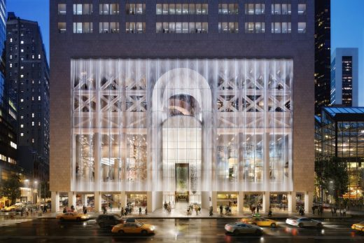 550 Madison in NYC building design by Snøhetta