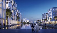 Aljada Development Masterplan design Sharjah