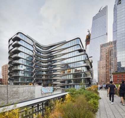 Amenity Spaces at 520 West 28th Street NY