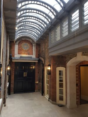 New Glass Roof at the Art Workers Guild London