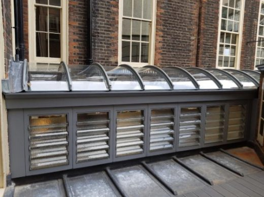 Art Workers' Guild in Bloomsbury: New Glass Roof