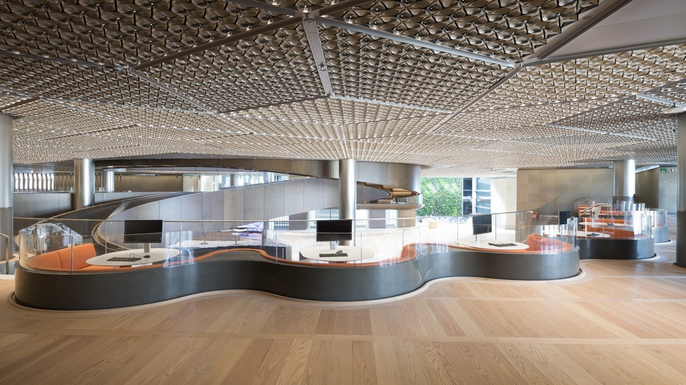 Bloomberg European Headquarters In London 2 E architect