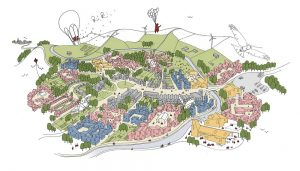 Cambridge to Oxford Connection Competition Design Concept by Tibbalds Planning & Urban Design