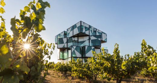 d'Arenberg Cube Adelaide building