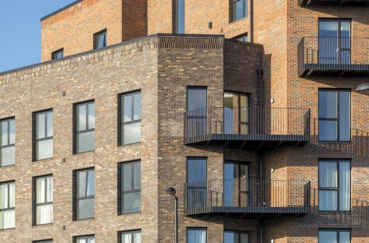 Dalston Works Mixed-Use Development design by Waugh Thistleton Architects