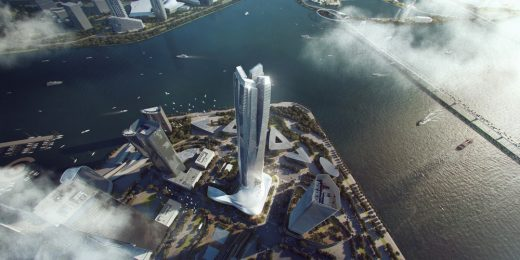Hengqin International Financial Center in Zhuhai