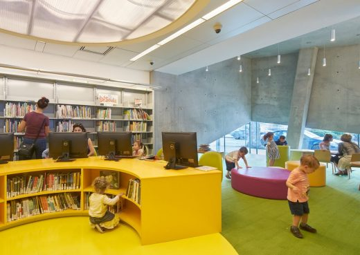 Kew Gardens Hills Library Building Queens NYC
