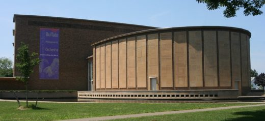 Kleinhans Music Hall building