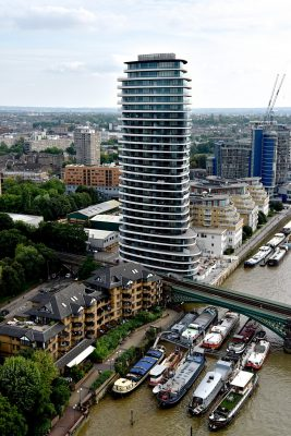 Lombard Wharf tower in South West London