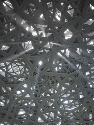 Abu Dhabi Louvre Museum dome photo