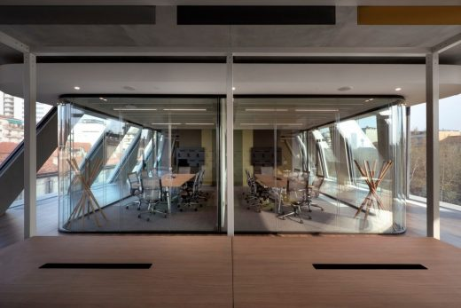 Microsoft House Milan Architecture News