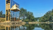 The Mirrored Sight Shelter, Guizhou, China, by Li Hao