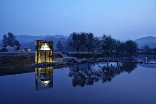 The Mirrored Sight Shelter building in Guizhou by Li Hao