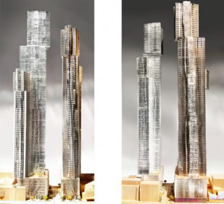 Mirvish+Gehry Toronto Towers building design