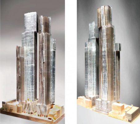 Mirvish+Gehry Toronto Towers design
