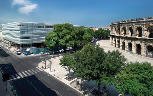 Musee de la Romanite in Nimes