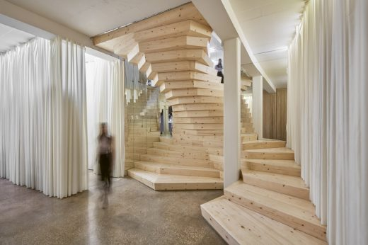 Office Staircase Prototype Shoreditch