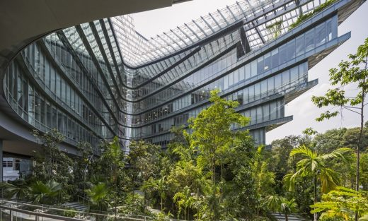 Sandcrawler Office Building Singapore Architecture News