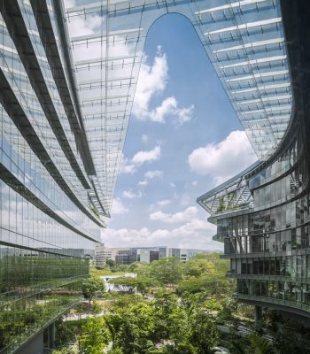 Sandcrawler Office Building in Singapore