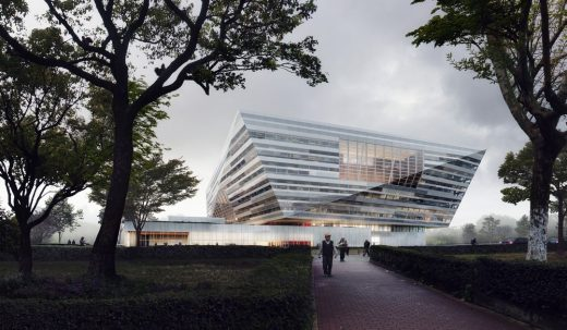 Shanghai East Library in China