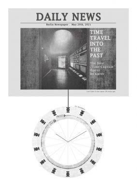 Showing - alternative designs for museums Winning design Time Travel