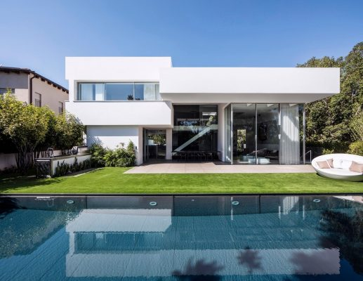 The Black Core House in Tel Aviv