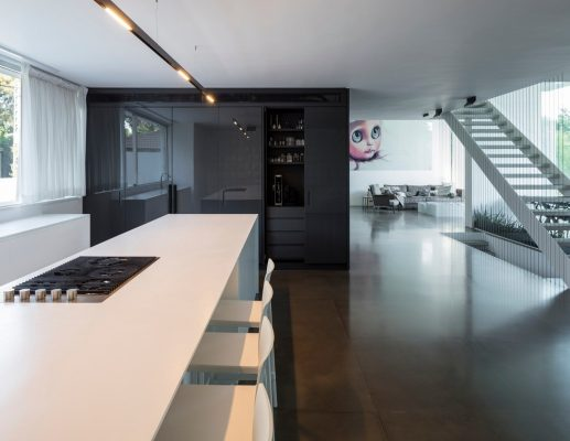 The Black Core House in Tel Aviv by Axelrod Architects