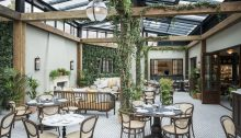 Thonet Chairs Grace the Birnam Brasserie
