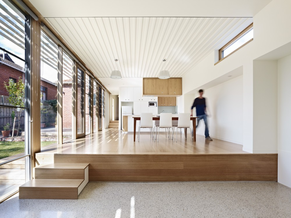 Using Different Levels To Break Up Your House Design