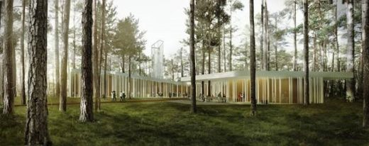 Arvo Pärt Centre in Estonia building design by Nieto Sobejano Arquitectos