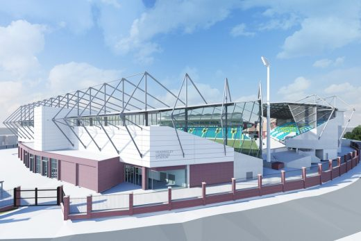Emerald Headingley Stadium Leeds building