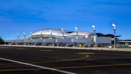 Franjo Tudman International Airport Zagreb building designed by Croatian Architect practice
