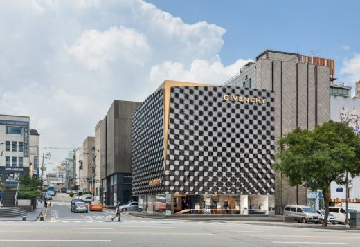 Givenchy Flagship Store Seoul Cheongdam Retail building